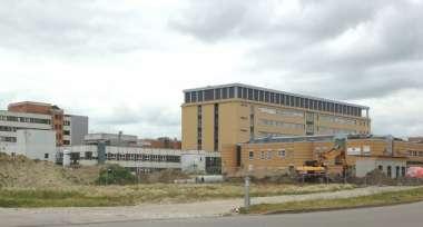 Neubau Erweiterung Notaufnahme und Klinik Innere Medizin A